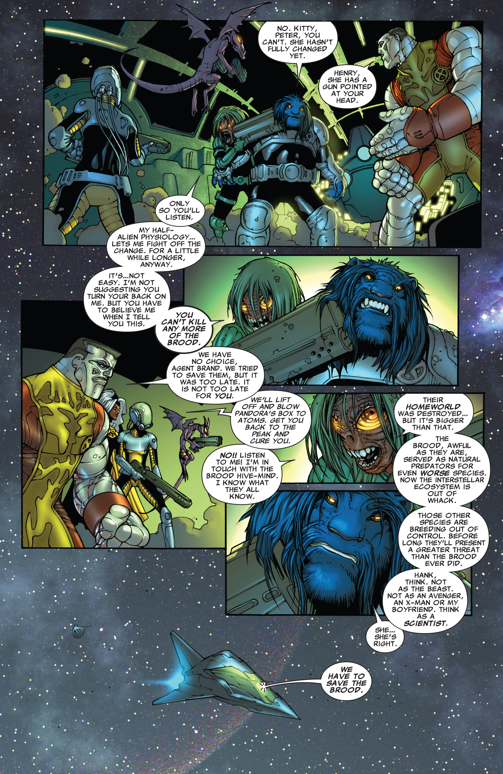 Read online Astonishing X-Men (2004) comic -  Issue #40 - 5