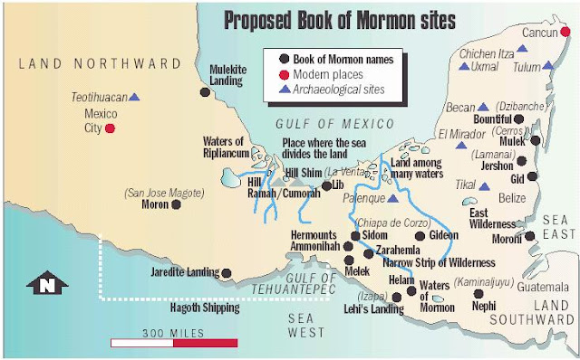 Proposed Book of Mormon Sites
