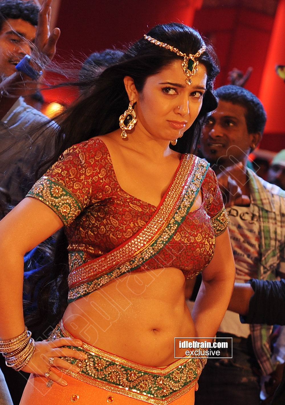charmi navel photos