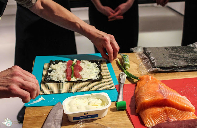 so macht man Sushi