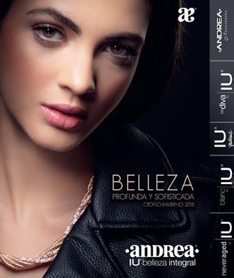 Catalogo ANDREA  IU  Belleza integral Otoño Invierno 2018