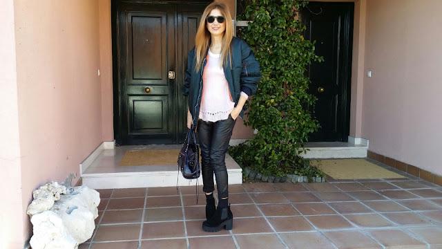 Carmen Hummer, Blog de moda, Street Style, Life Style, Bomber, Look, cool