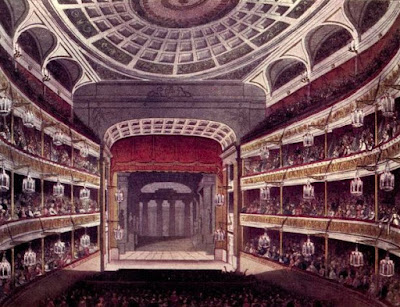 New Covent Garden Theatre from The Microcosm of London Vol 3 (1810)