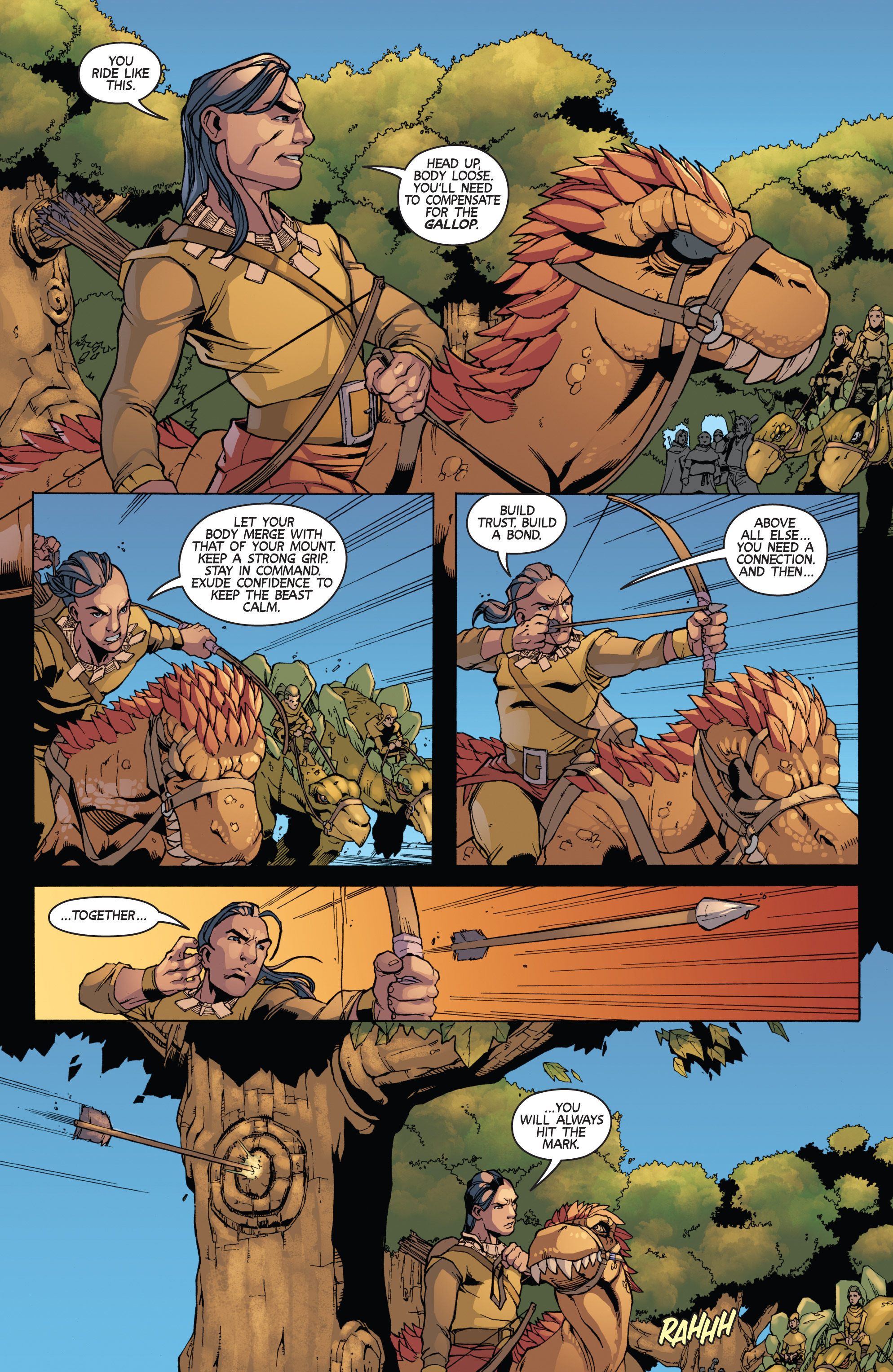 Read online Turok: Dinosaur Hunter (2014) comic -  Issue # _TPB 3 - 67