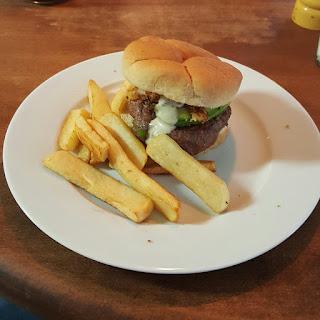 Hatch Green Chile Burger