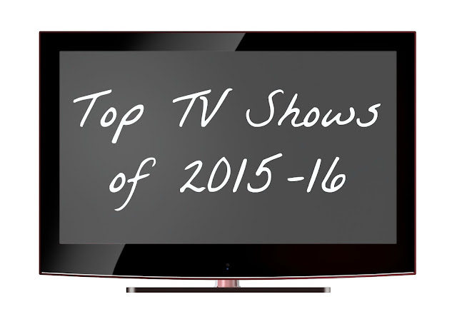 "TV screen image with white text ""Top TV show of 2015-16"""