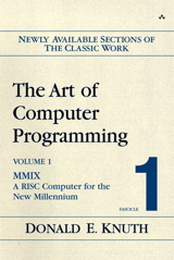 The Art of Computer Programming, Volume 1, Fascicle 1: MMIX -- A RISC Computer