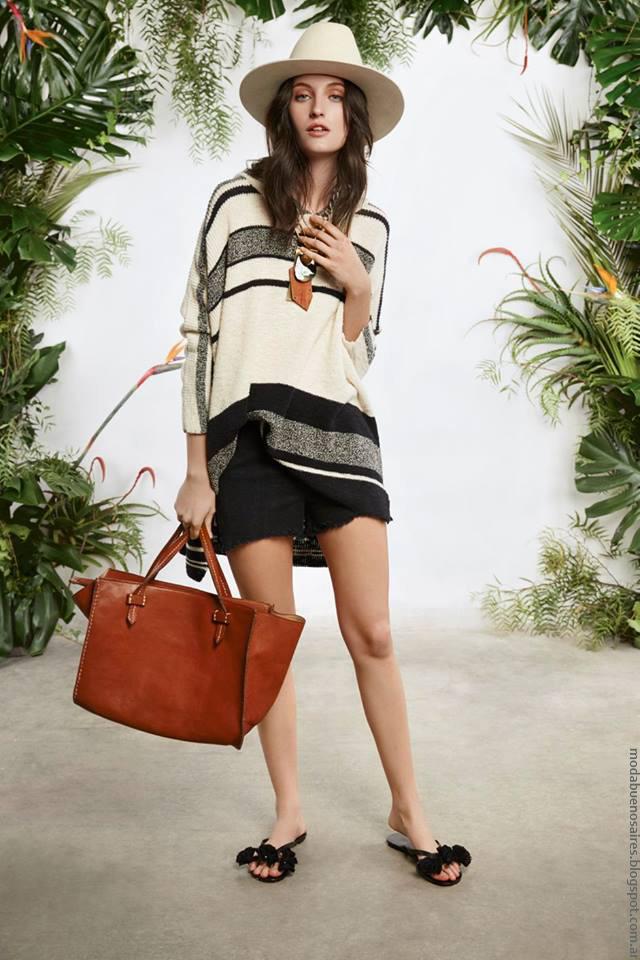 Sweater primavera verano 2017 María Cher. Moda verano 2017 ropa de mujer.