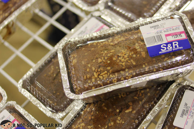 Banana Loaf of S&R Membership Shopping