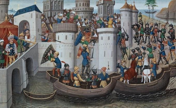 13 Απριλίου, η άλωση της Κωνσταντινούπολης το 1204