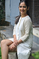 Radhika Cute Young New Actress in White Long Transparent Kurta ~  Exclusive Celebrities Galleries 055.JPG