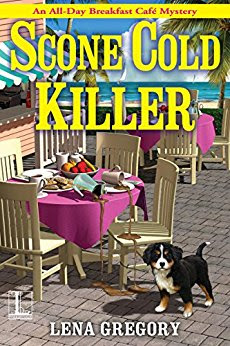 Bea's Book Nook, Review, SCone Cold Killer, Lena Gregory