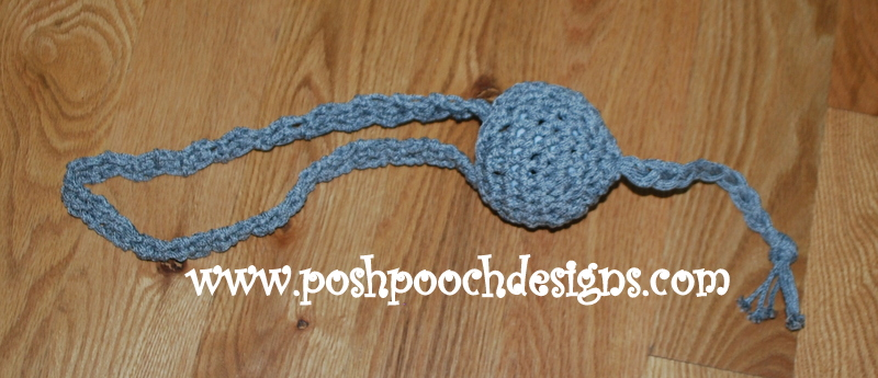 Make Dog Toys Out Of Acrylic Or Wool Yarn