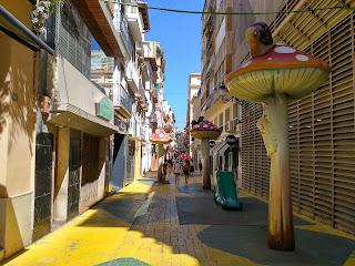 alicante calle setas
