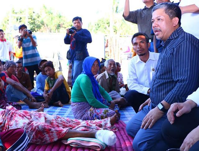 Fahri Khawatir Gempa Lombok Jadi Ajang Pencitraan Pejabat