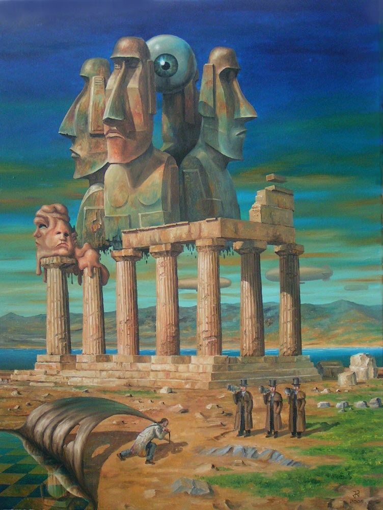 10-Beauty-of-the-ancient-world-Jaroslaw-Jaśnikowski-Paintings-of-Surreal-Architecture-with-Gothic-Undertones-www-designstack-co