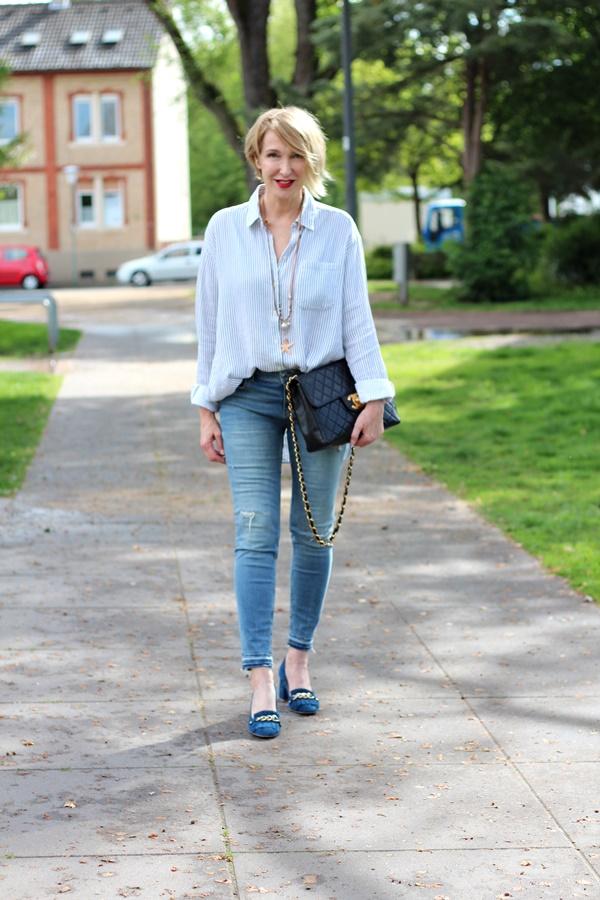 Loafer zur Skinny-Jeans