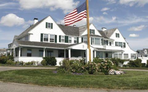 Kennedy main residence Hyannis Port