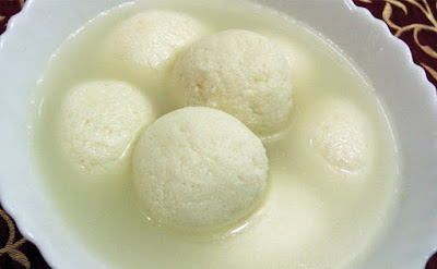 Bengali Rasgulla (Veg) From Imperial Inn