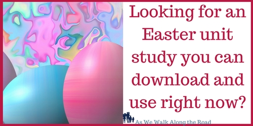 Easter unit studies