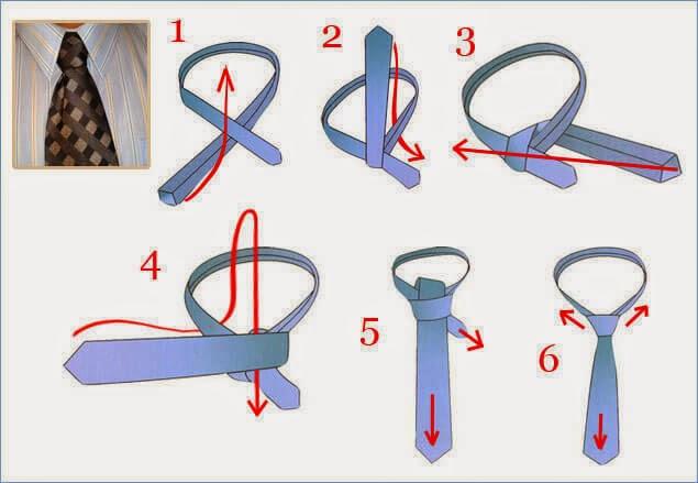 Kaklaraiščio rišimas Nr.5
