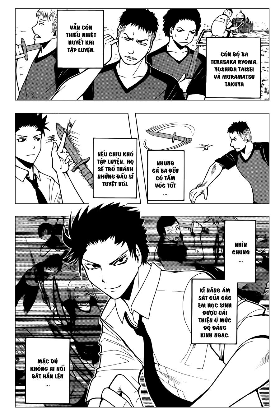 Ansatsu Kyoushitsu chap 38 trang 8