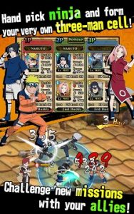 Ultimate Ninja Blazing Mod v1.1.1 Apk High Damage + HP Terbaru
