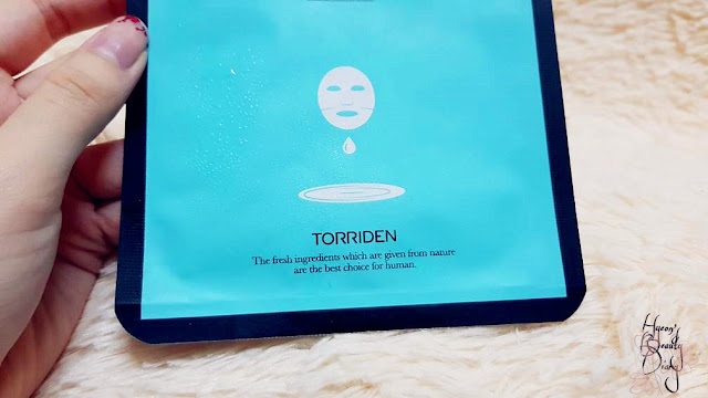 Review; Torriden's Cellmazing Centellareal Mask Pack + First Impression
