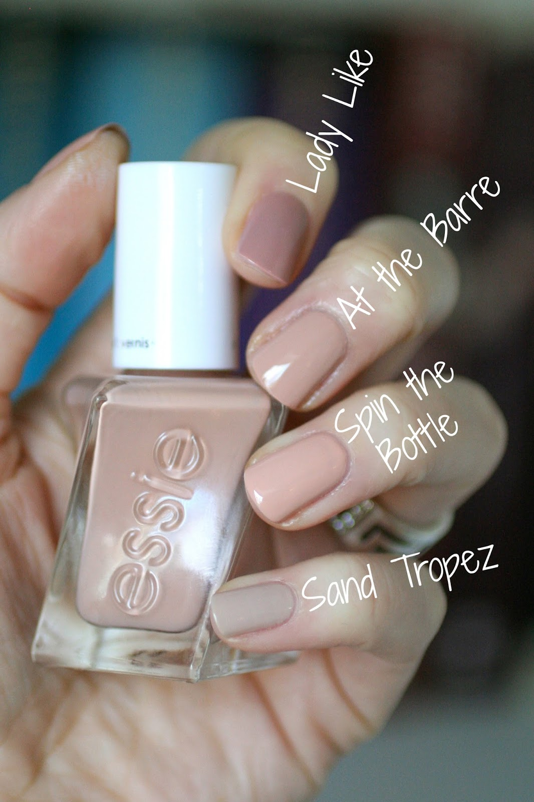 Essie Gel Couture Ballet Nudes : Swatches, Review & Comparisons ...