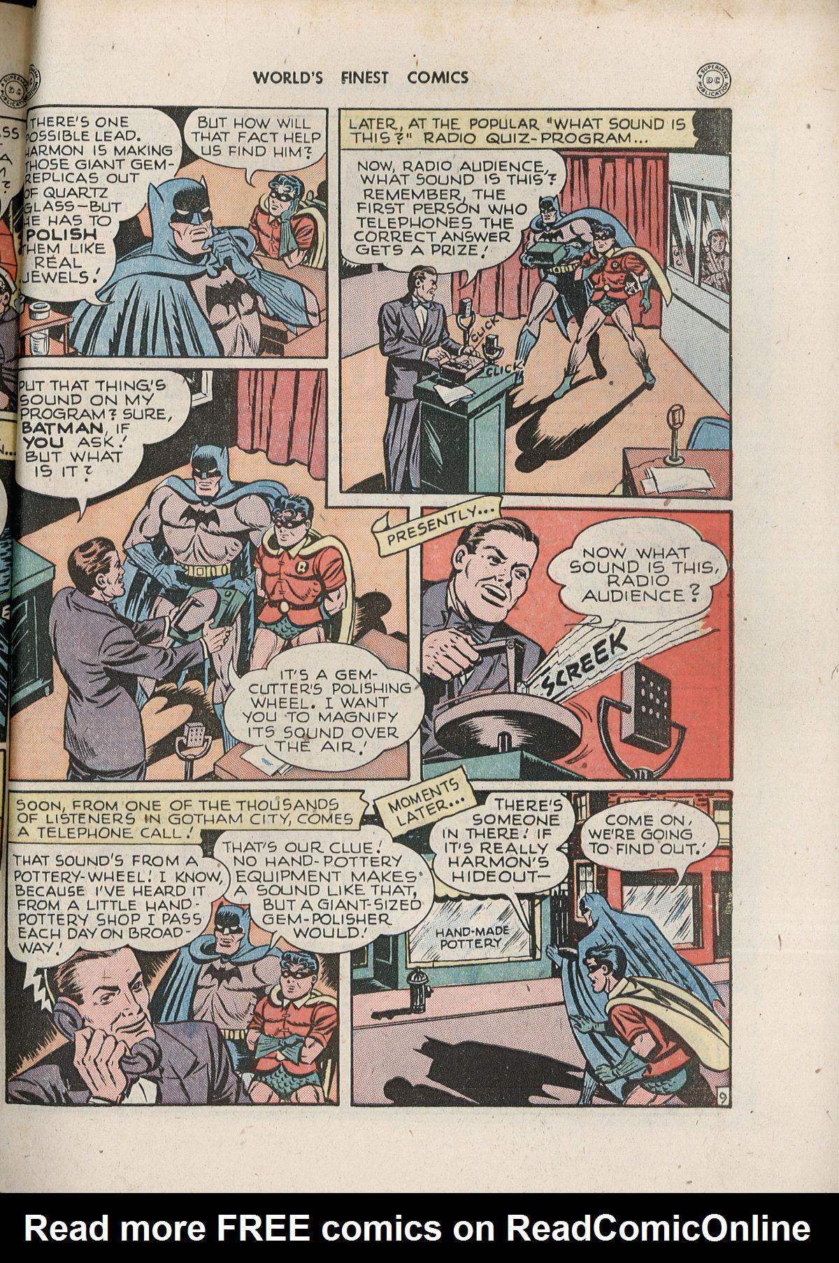 Read online World's Finest Comics comic -  Issue #33 - 69