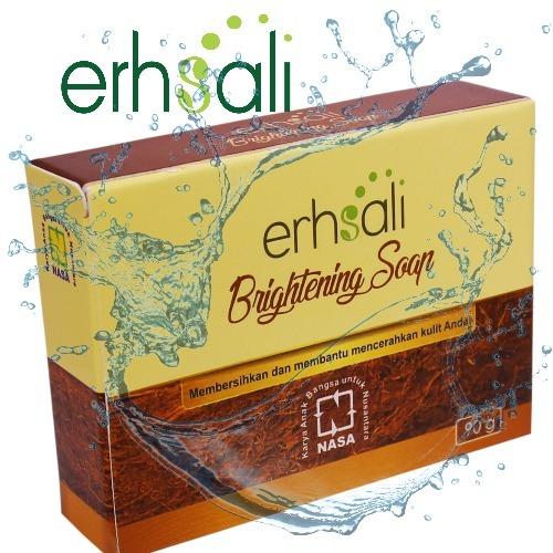 Lecith Nasa Untuk Wajah Dan Kesehatan: Erhsali Brightening Soap