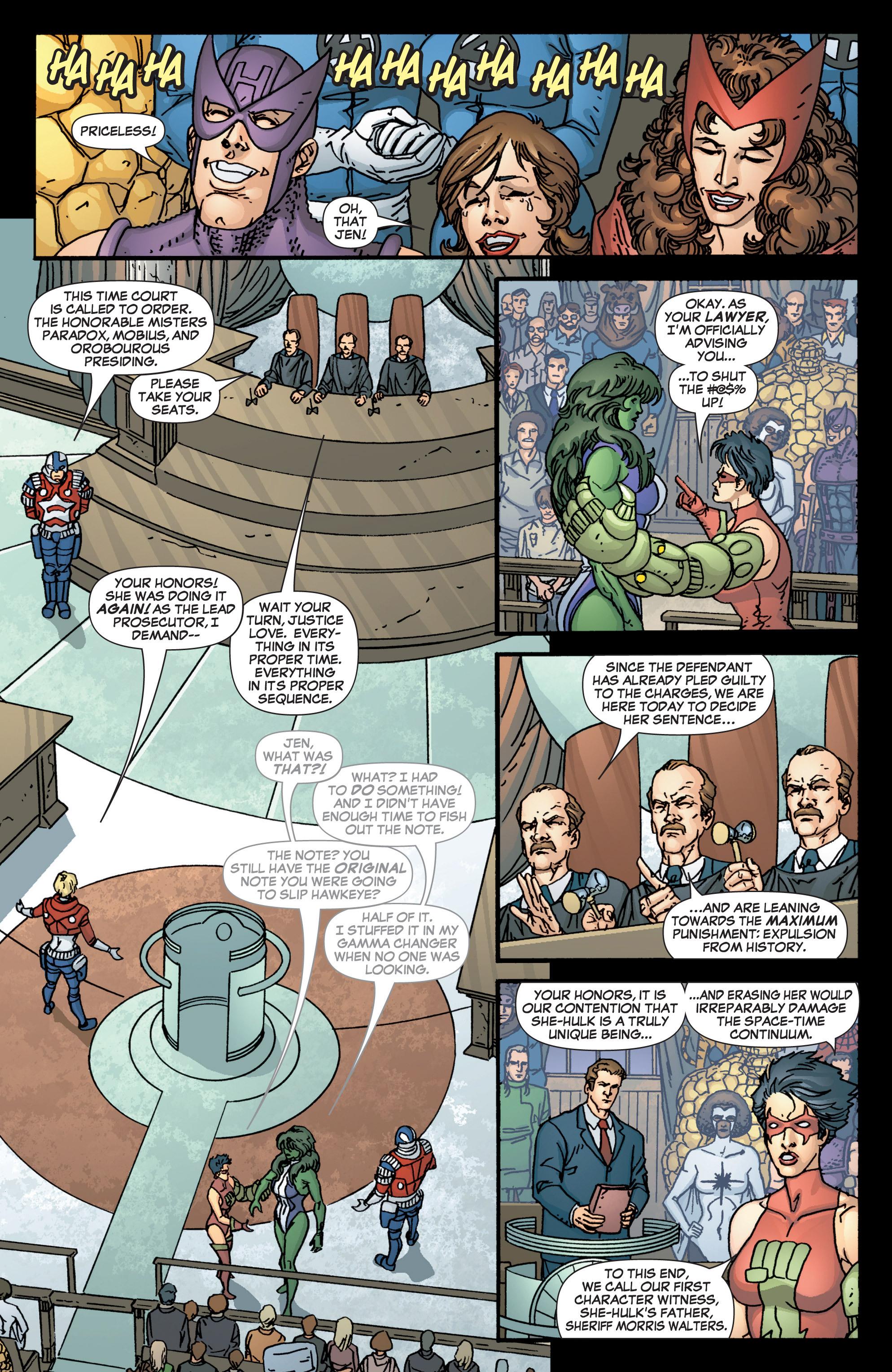 Read online She-Hulk (2005) comic -  Issue #3 - 10