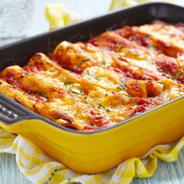 Recette  Cannelloni à la sicilienne