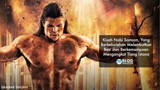 Kisah Nabi Allah, Samson Yang Ramai Tidak Tahu