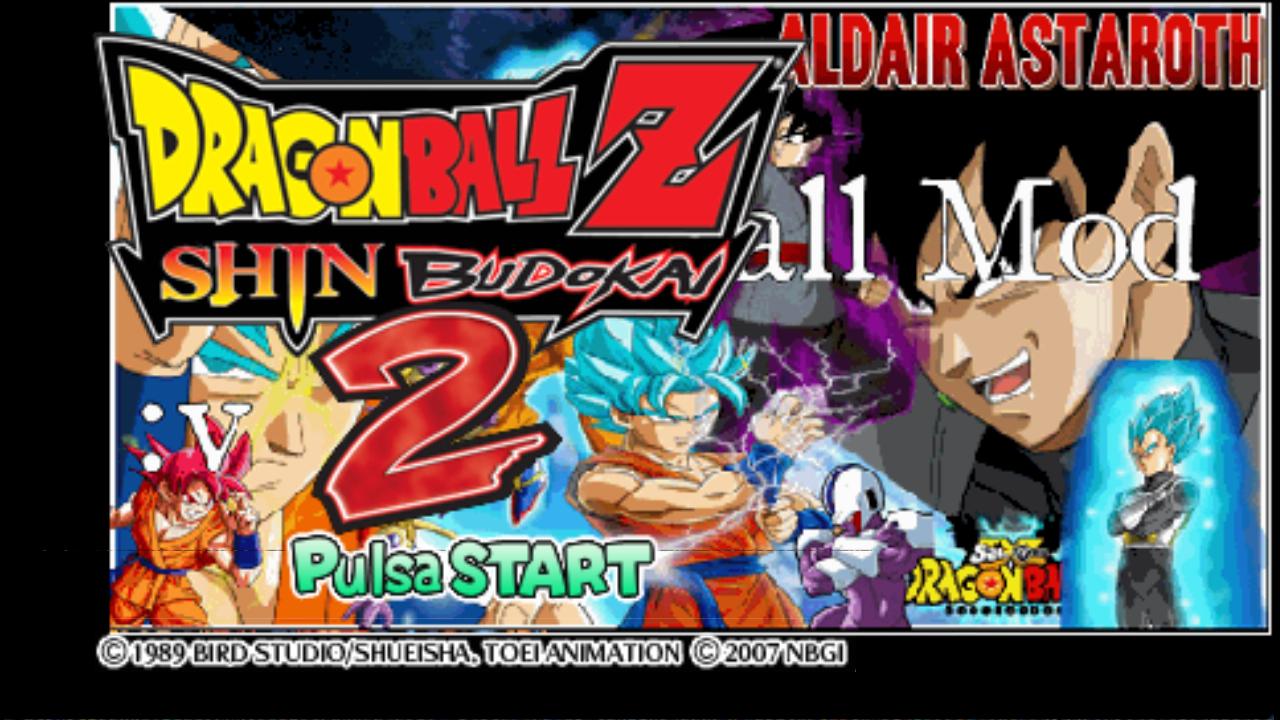 Dragon Ball Z Shin Budokai 2 Mod Super GT y mas (Español