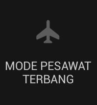 Trik Main game hemat baterai dengan mode pesawat