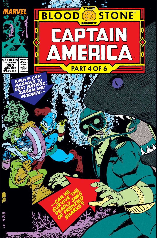 Captain America (1968) Issue #360 #293 - English 1