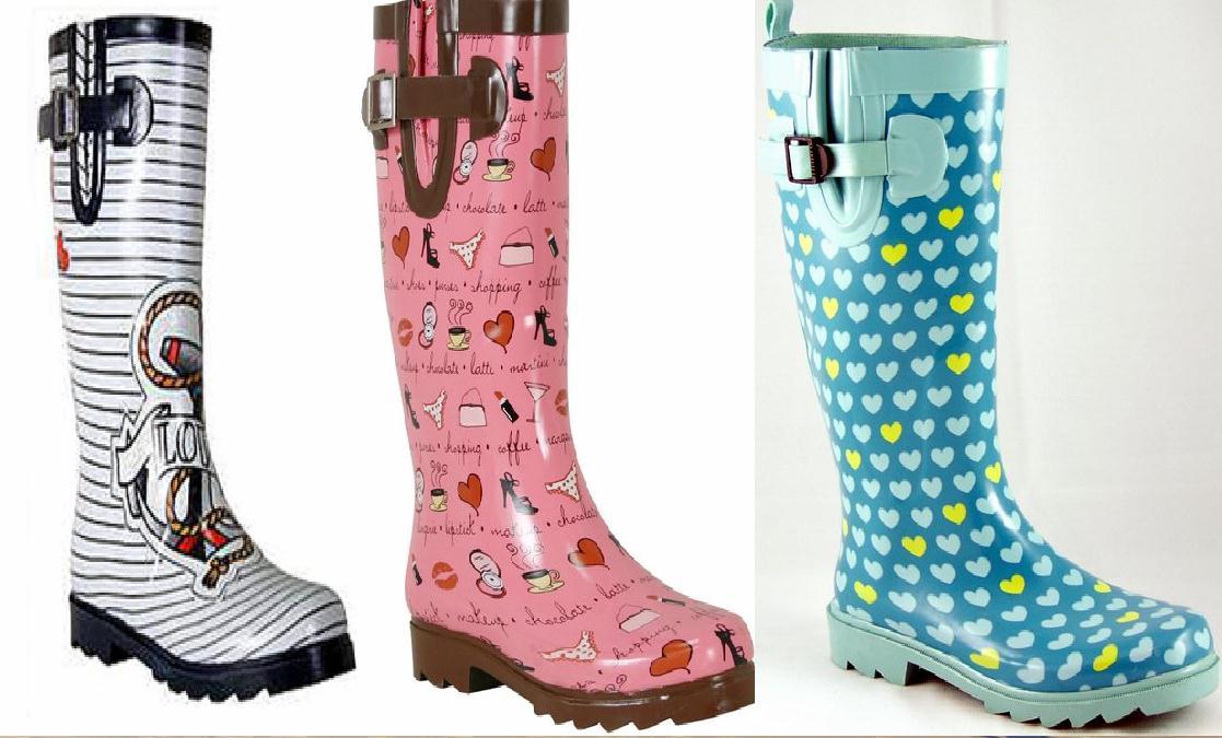 7e6b2554fd7 Blog da Núbia  Sapatos para enfrentar a chuva!!