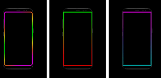 How to Make a Border Light Around the Android Phone Screen
