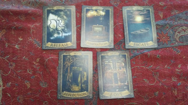 tarot cards occult mystical maggie the room