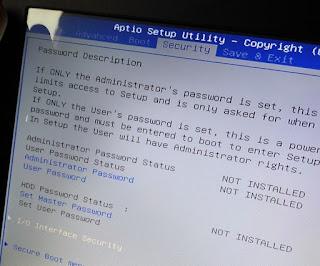 Cara Mengtasi Blue Screen Pada ASUS A456UR - BSOD