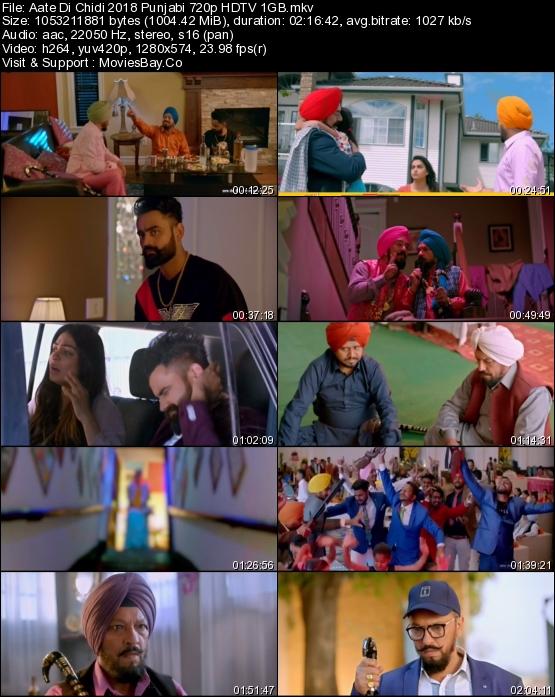 Aate Di Chidi 2018 Punjabi 720p HDTV 1GB