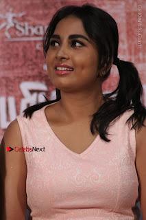 Actress Srushti Dange Stills in Short Dress at Mupparimanam Press Meet  0012.jpg