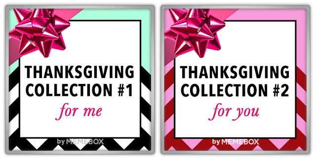Memebox Thanksgiving Box Collection #1 For Me #2 For You valueset 미미박스 Commercial