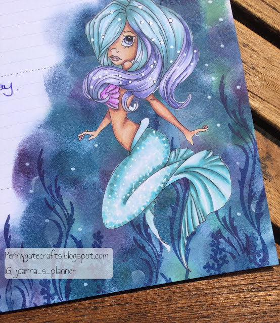 decorative-planner-stamping-mermaid-pages