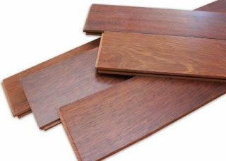 Jenis lantai kayu merbau flooring UV Coating