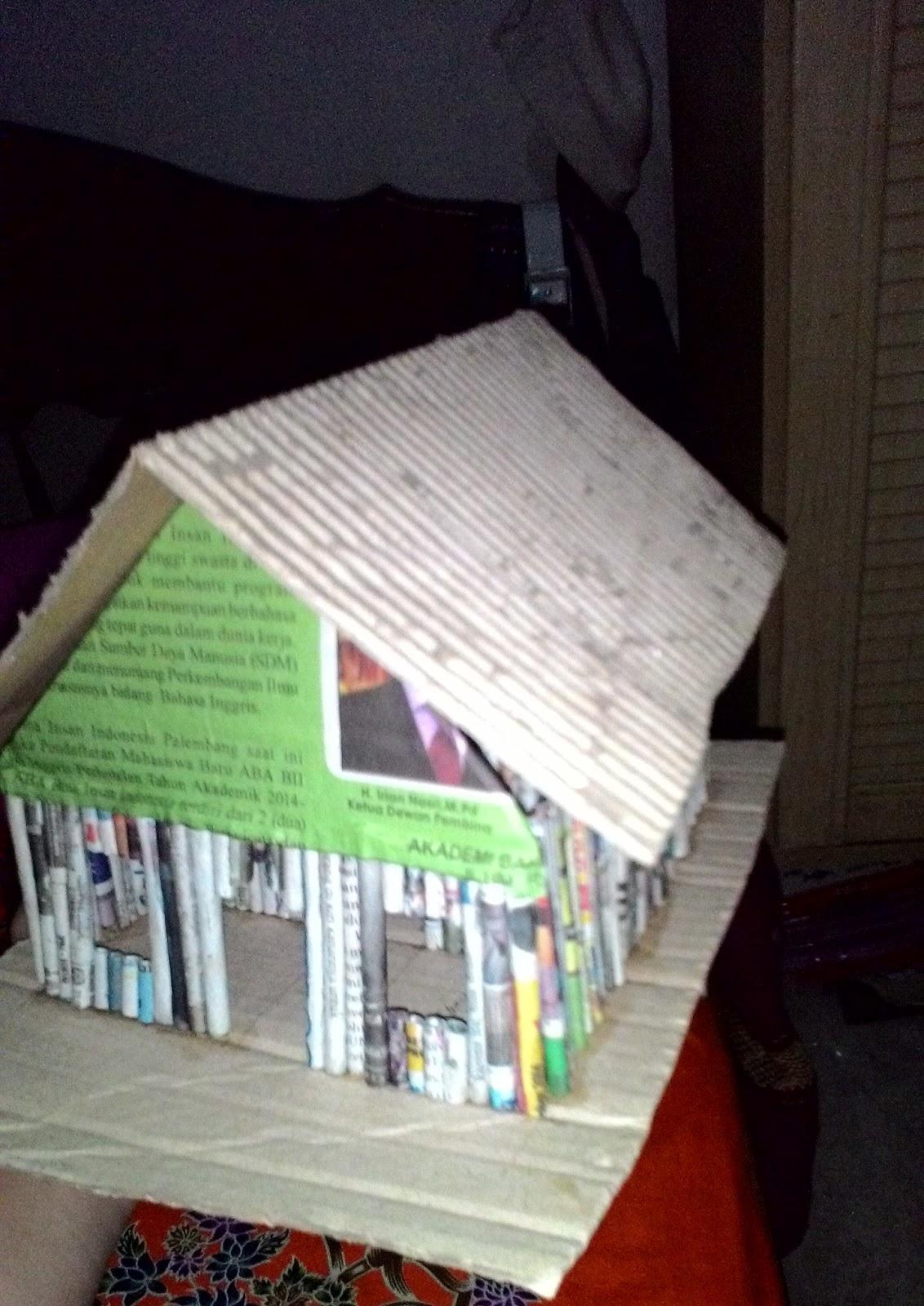 Cara Membuat Rumah Dari Koran : membuat, rumah, koran, Mauliddya, Membuat, Rumah-rumahan, Koran