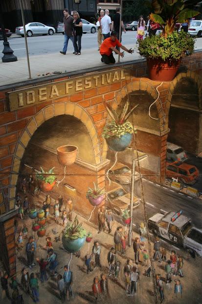 Julian Beever Street Art 3D