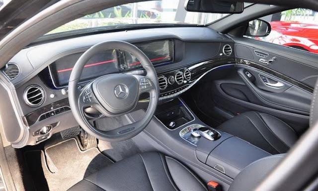 Nội thất Mercedes S450 L Star 2018 được thiết kế vô cùng sang trọng và đẳng cấp