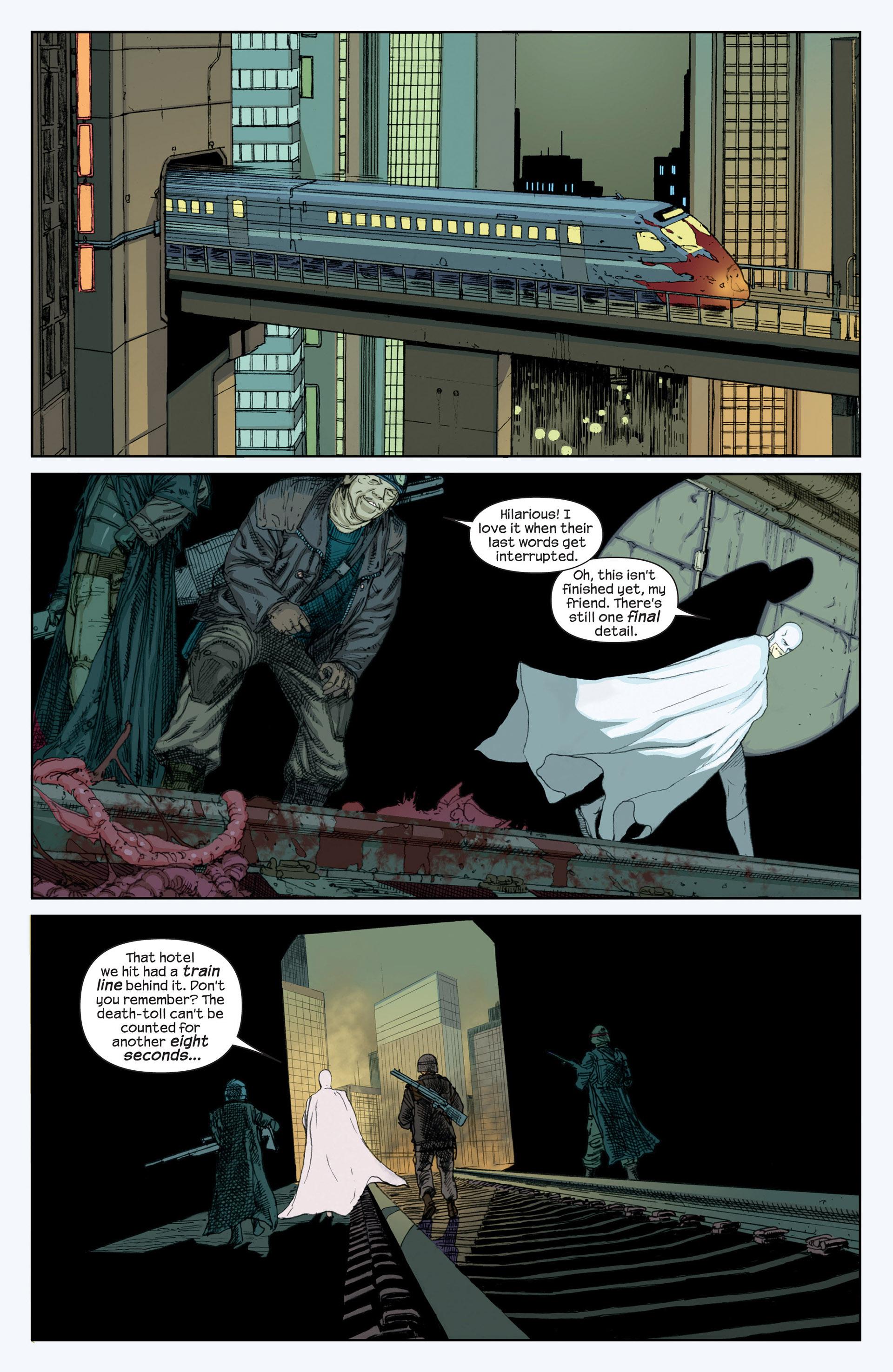 Read online Millar & McNiven's Nemesis comic -  Issue #1 - 10